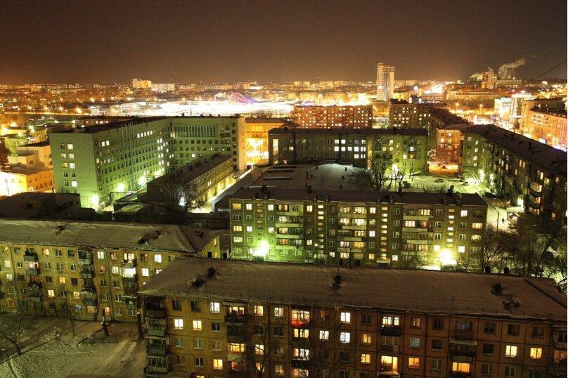 2-комн. квартира, 63 кв.м. на 4 человека, проспект Ленина, 38/179, Челябинск - Фотография 9