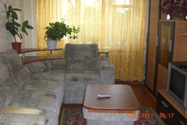 2-комн. квартира, 49 кв.м. на 6 человек, Пионерский проспект, 37, Центральный район, Новокузнецк - Фотография 1