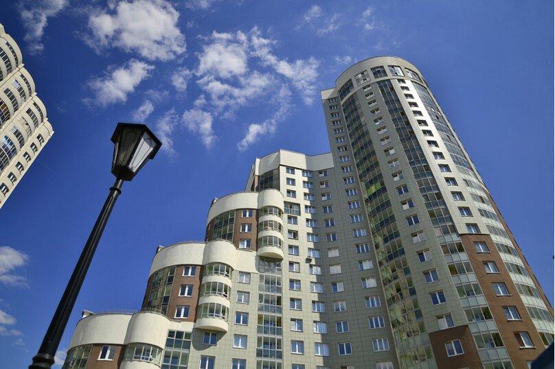 1-комн. квартира на 4 человека, Луганская улица, 6, Екатеринбург - Фотография 10