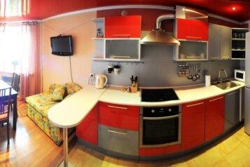 2-комн. квартира, 80 кв.м. на 4 человека, Красноармейская улица, 1, Ленинский район, Киров - Фотография 1