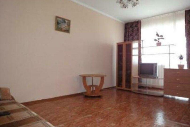 1-комн. квартира, 40 кв.м. на 2 человека, улица Авиаторов, 23, Красноярск - Фотография 1