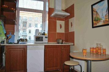 2-комн. квартира, 50 кв.м. на 4 человека, проспект Ленина, Октябрьский район, Мурманск - Фотография 4