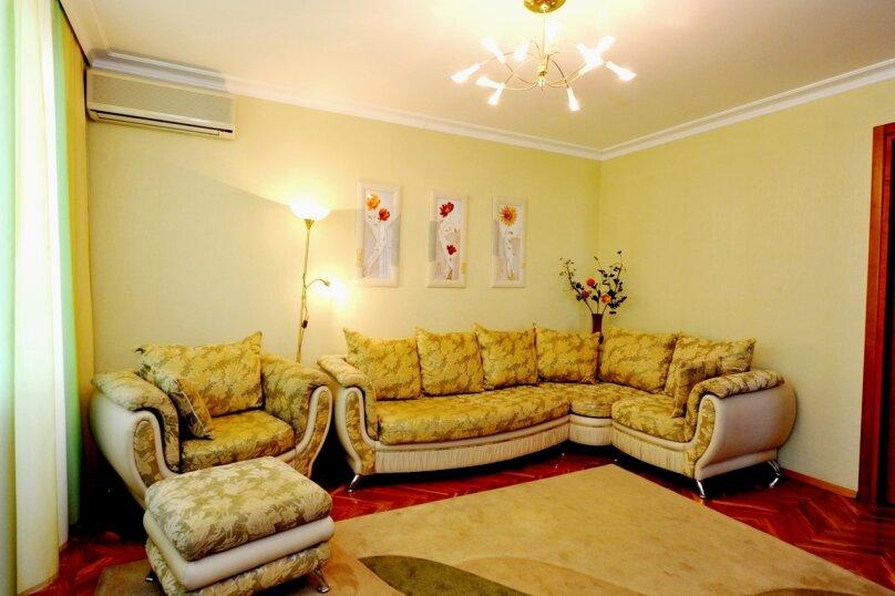 3-комн. квартира, 54 кв.м. на 6 человек, проспект Ленина, 6, Волгоград - Фотография 5