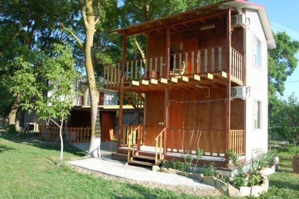 Дачный домик для отдыха, 50 кв.м. на 6 человек, 2 спальни, Зелёная роща, 46, село Сукко - Фотография 1