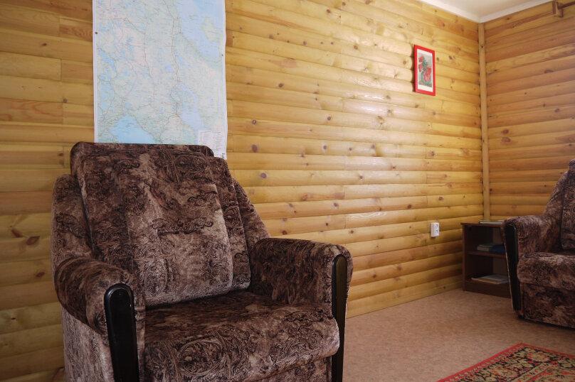 Домик, 50 кв.м. на 5 человек, 2 спальни, Малиновая, 48, посёлок Нигозеро, Кондопога - Фотография 5