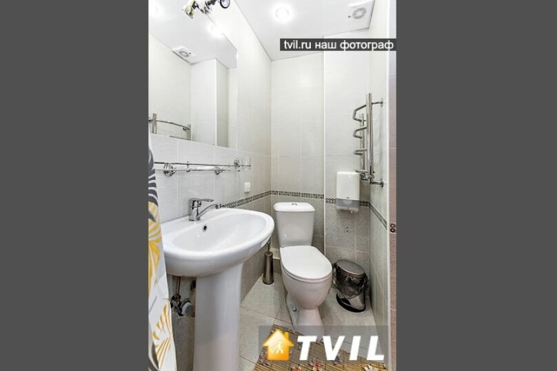 2х местный стандарт с одной или двумя отдельными кроватями, улица Плеханова, 75, Сочи - Фотография 1