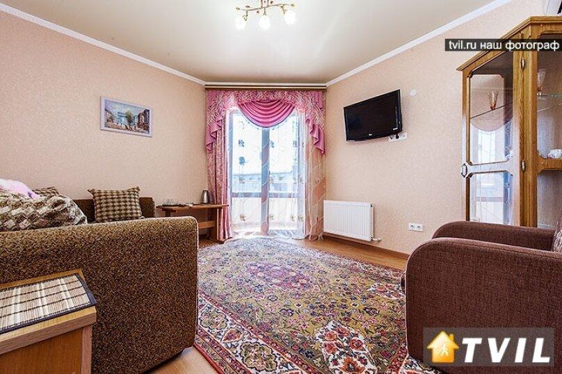 2-х комнатный с балконами, улица Горького, 17, Анапа - Фотография 4