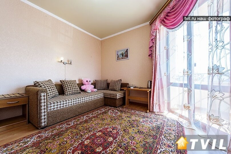 2-х комнатный с балконами, улица Горького, 17, Анапа - Фотография 5