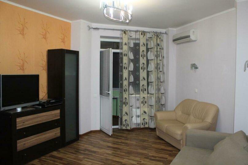 2-комн. квартира, 54 кв.м. на 5 человек, Курзальная улица, 40А, Геленджик - Фотография 1