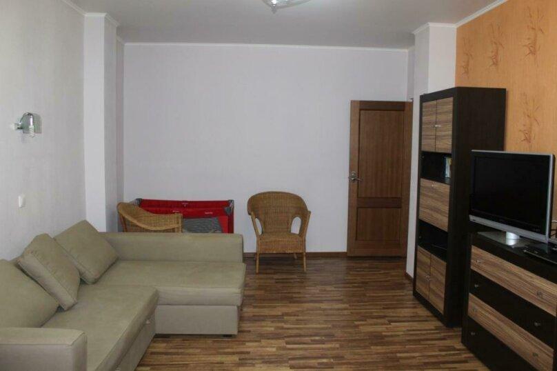 2-комн. квартира, 54 кв.м. на 5 человек, Курзальная улица, 40А, Геленджик - Фотография 9