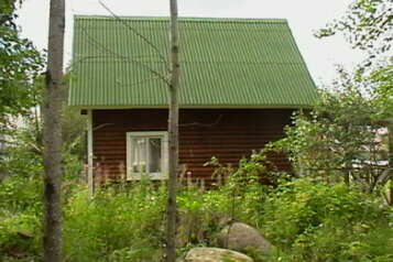 Домик, 50 кв.м. на 5 человек, 2 спальни, Малиновая, посёлок Нигозеро, Кондопога - Фотография 1