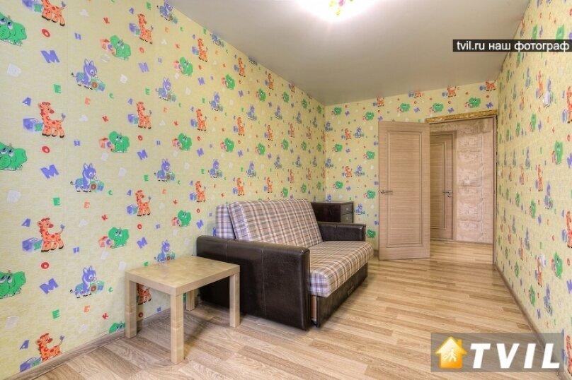 2-комн. квартира, 30 кв.м. на 4 человека, улица Чкалова, 2, Пермь - Фотография 6