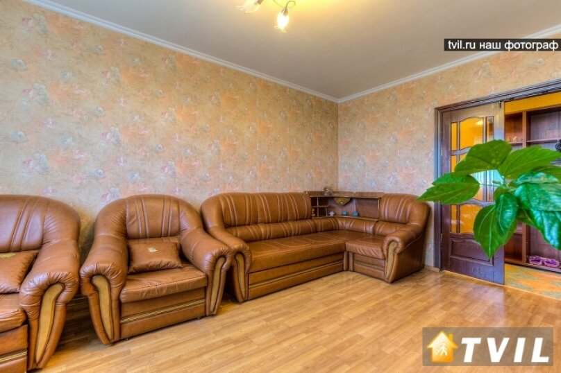 3-комн. квартира на 8 человек, улица Академика Завойского, 12, Казань - Фотография 4
