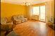 2-комн. квартира, 48 кв.м. на 3 человека, Молодежный проспект, 15, Заводский район, Кемерово - Фотография 1