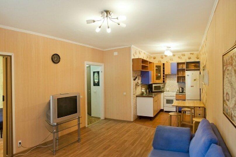 2-комн. квартира, 49 кв.м. на 4 человека, Ленинградский проспект, 28А, Кемерово - Фотография 1