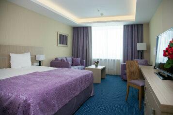 Delux:  Номер, Стандарт, 3-местный (2 основных + 1 доп), 1-комнатный, Отель, Борисовское шоссе на 79 номеров - Фотография 2