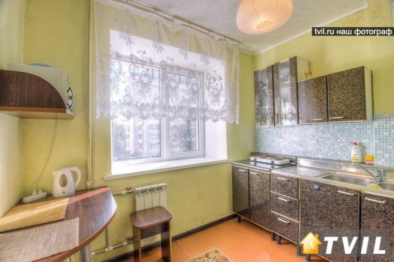 1-комн. квартира, 27 кв.м. на 3 человека, улица Фурманова, 32, Екатеринбург - Фотография 5