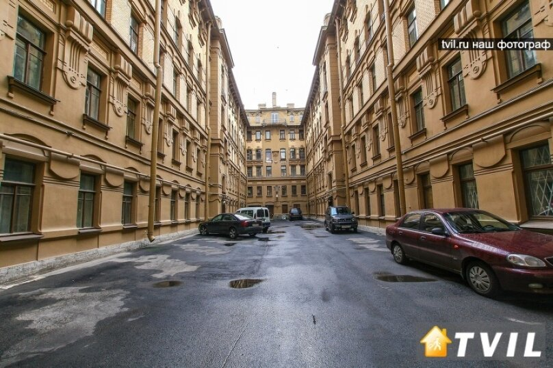 2-комн. квартира, 65 кв.м. на 6 человек, набережная реки Фонтанки, 85, Санкт-Петербург - Фотография 20
