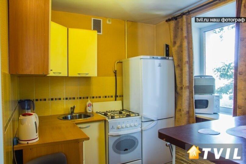 1-комн. квартира, 30 кв.м. на 3 человека, улица Гагарина, 2, Омск - Фотография 4
