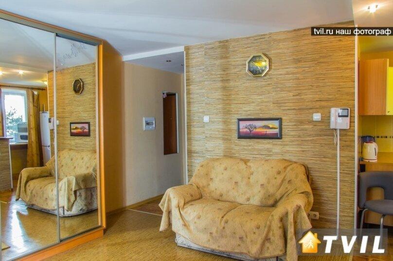 1-комн. квартира, 30 кв.м. на 3 человека, улица Гагарина, 2, Омск - Фотография 5