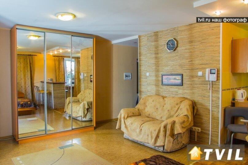 1-комн. квартира, 30 кв.м. на 3 человека, улица Гагарина, 2, Омск - Фотография 6