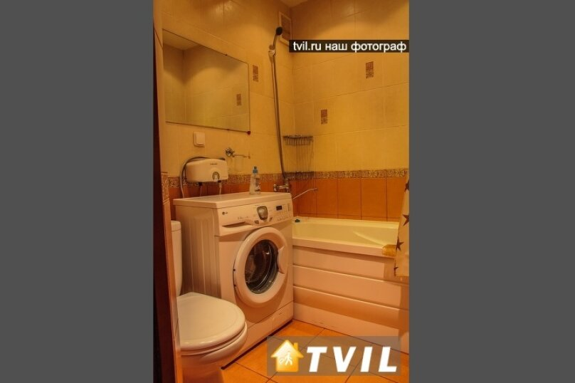 1-комн. квартира, 30 кв.м. на 3 человека, улица Гагарина, 2, Омск - Фотография 12