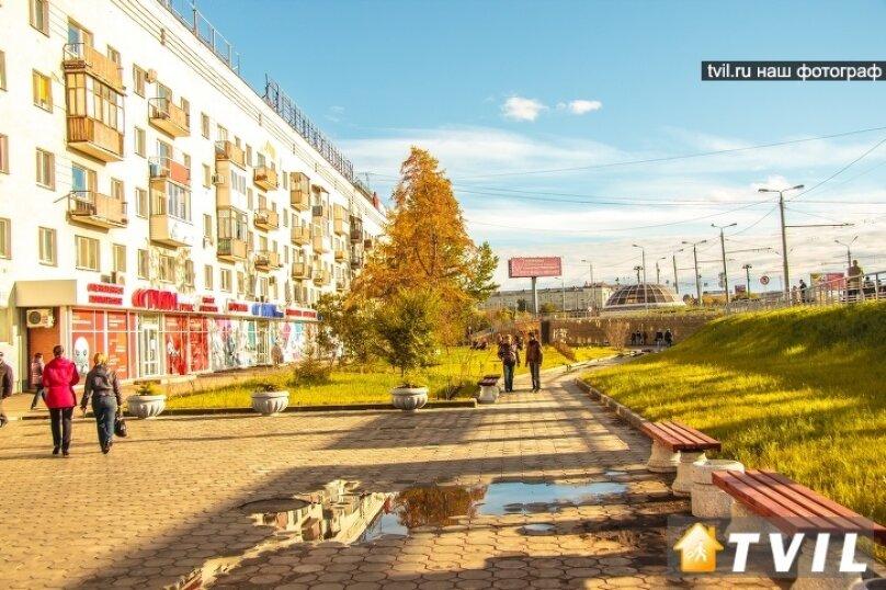 1-комн. квартира, 30 кв.м. на 3 человека, улица Гагарина, 2, Омск - Фотография 14