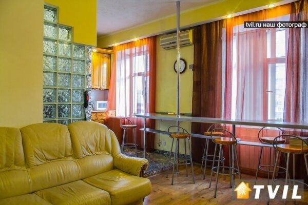 1-комн. квартира, 45 кв.м. на 3 человека, улица Герцена, 13, Центральный округ, Омск - Фотография 1