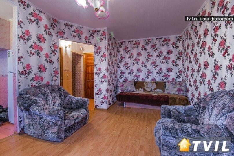 2-комн. квартира, 40 кв.м. на 5 человек, Волгоградская улица, 37, Екатеринбург - Фотография 7