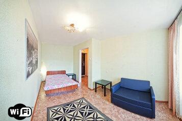 1-комн. квартира на 3 человека, Троллейная улица, 17, Площадь Маркса, Новосибирск - Фотография 1