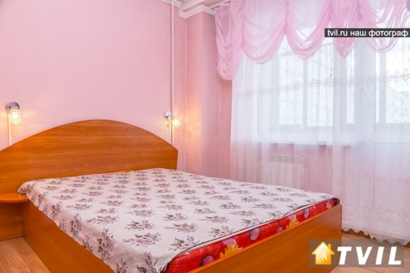 2-комн. квартира, 46 кв.м. на 4 человека, улица Партизана Железняка, 34, Красноярск - Фотография 1