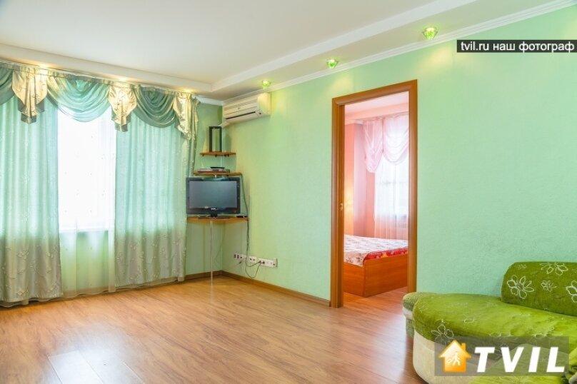 2-комн. квартира, 46 кв.м. на 4 человека, улица Партизана Железняка, 34, Красноярск - Фотография 6