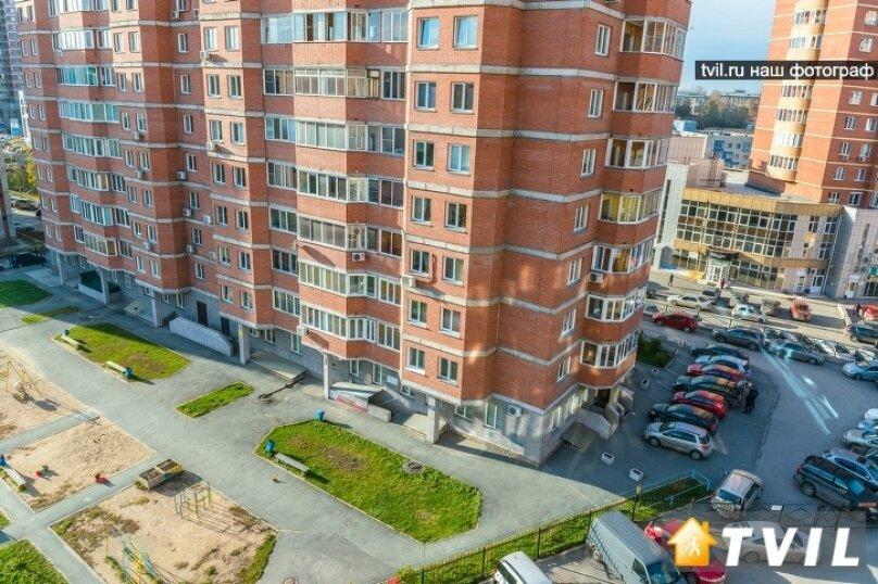 1-комн. квартира, 45 кв.м. на 2 человека, улица Галущака, 7, Новосибирск - Фотография 15