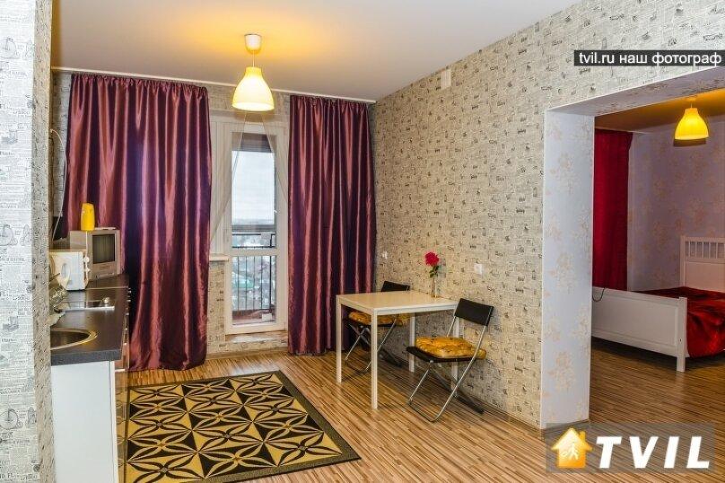 2-комн. квартира на 4 человека, Тихвинская улица, 14, Новосибирск - Фотография 5