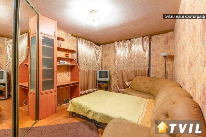 1-комн. квартира, 35 кв.м. на 3 человека, улица Шейнкмана, 45, метро Площадь 1905 года, Екатеринбург - Фотография 2