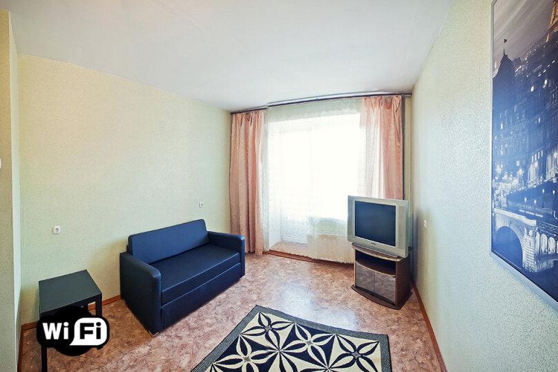 1-комн. квартира на 3 человека, Троллейная улица, 17, метро Площадь Маркса, Новосибирск - Фотография 2