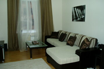 3-комн. квартира, 72 кв.м. на 6 человек, улица Ярославов Вал, Киев - Фотография 1
