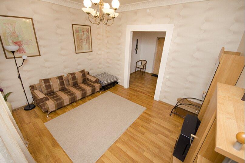 2-комн. квартира, 60 кв.м. на 6 человек, Мельковская улица, 2Б, Екатеринбург - Фотография 2