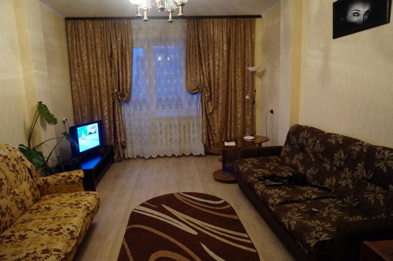 2-комн. квартира, 60 кв.м. на 3 человека, Кропоткина, 13а, Воронеж - Фотография 7