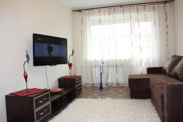 2-комн. квартира, 52 кв.м. на 6 человек, Вокзальная улица, 52, Западный район, Междуреченск - Фотография 1