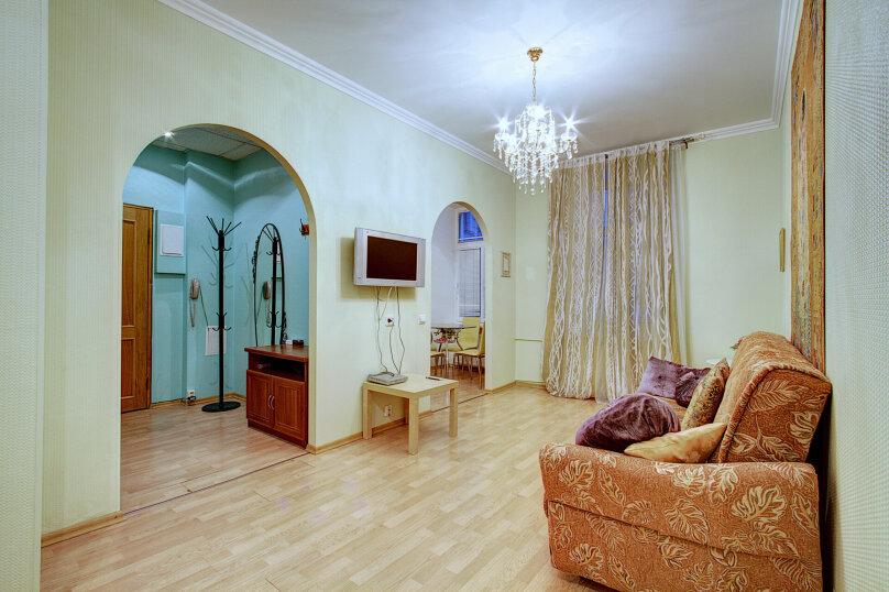 3-комн. квартира, 70 кв.м. на 5 человек, Таврическая улица, 9, Санкт-Петербург - Фотография 2