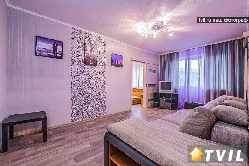 2-комн. квартира, 50 кв.м. на 2 человека, Аэровокзальная улица, 2З, Красноярск - Фотография 6