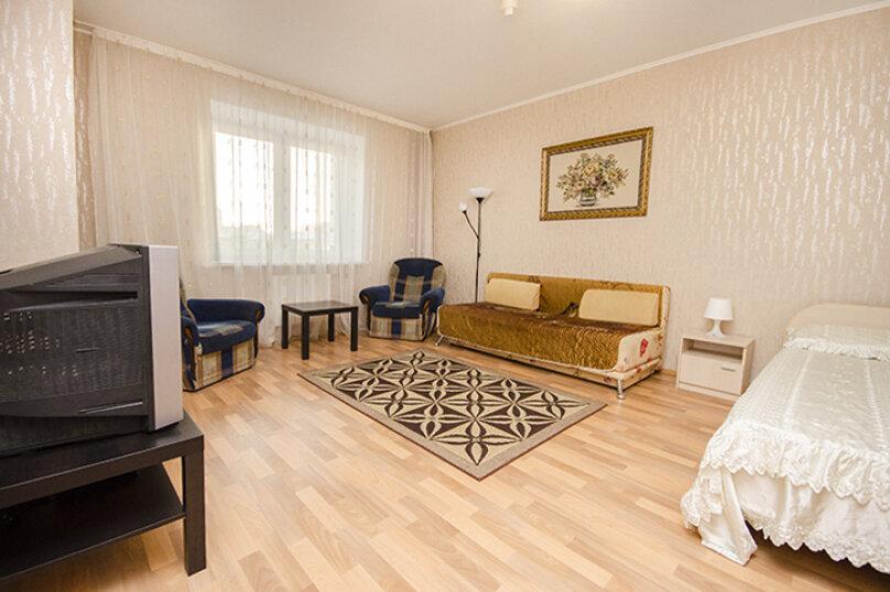1-комн. квартира, 45 кв.м. на 4 человека, улица Большакова, 75, метро Геологическая, Екатеринбург - Фотография 3