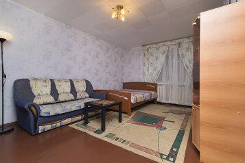 1-комн. квартира, 35 кв.м. на 4 человека, улица Декабристов, 51, Геологическая, Екатеринбург - Фотография 2