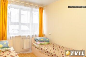 2-комн. квартира, 40 кв.м. на 4 человека, Желябова, 23А\1, Иркутск - Фотография 1