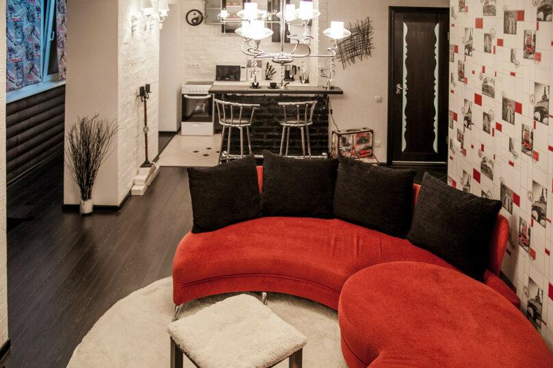 2-комн. квартира, 48 кв.м. на 2 человека, Нерчинская улица, 36, Владивосток - Фотография 1