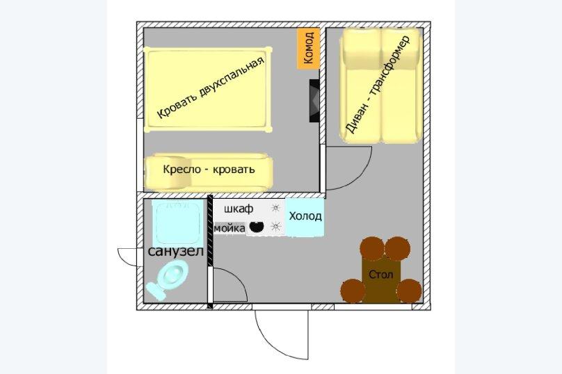 """Гостевой дом """"AzovHome"""", Курортная улица, 95 на 10 комнат - Фотография 31"""