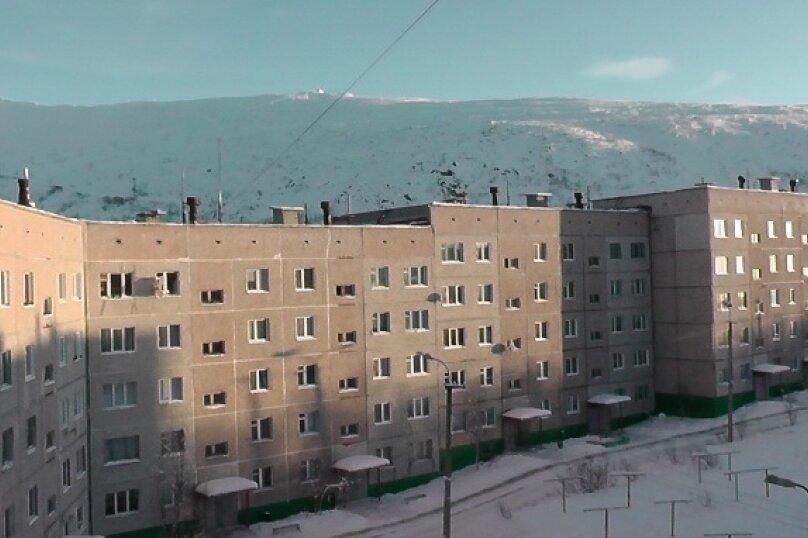 2-комн. квартира, 54 кв.м. на 5 человек, Ленинградская, 23, Кировск - Фотография 1