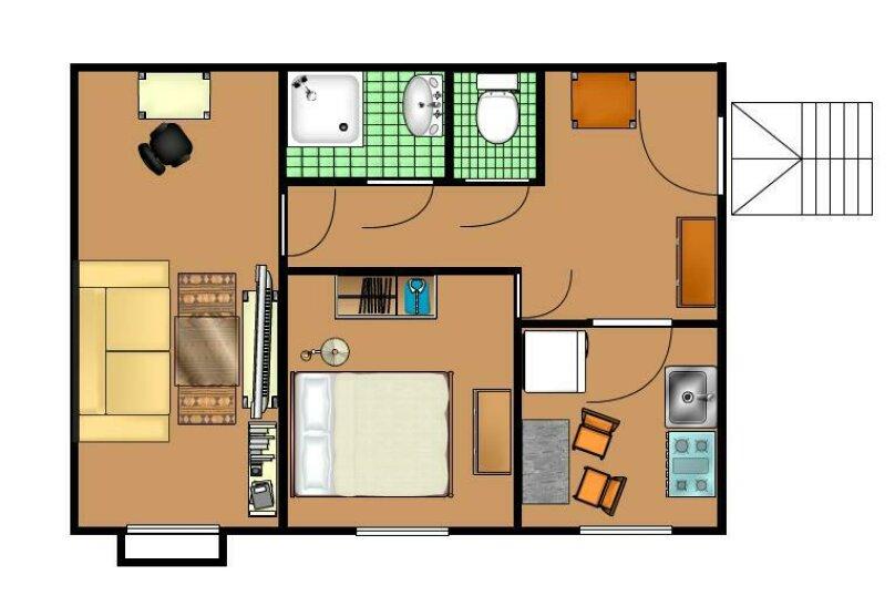 2-комн. квартира, 60 кв.м. на 4 человека, Тверская улица, 8к1, Москва - Фотография 14