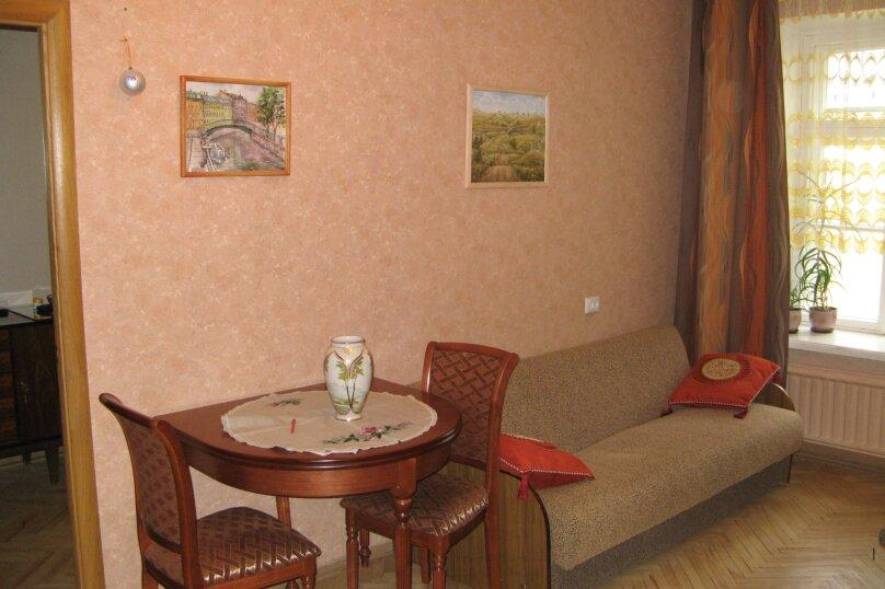 2-комн. квартира, 55 кв.м. на 4 человека, Гороховая улица, 48, метро Сенная пл., Санкт-Петербург - Фотография 2